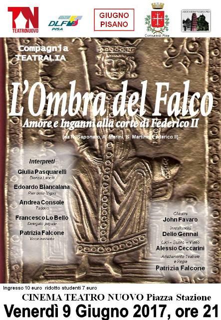 """""""L'Ombra del Falco"""" lo spettacolo su Federico II in scena al Teatro Nuovo"""