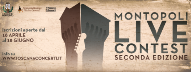 """II° edizione del """"Montopoli Live Contest"""", concorso musicale per artisti emergenti"""