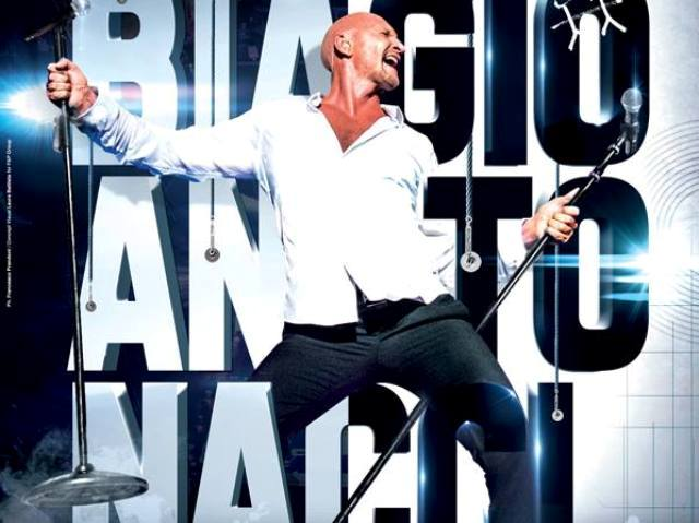 Biagio Antonacci in concerto al Nelson Mandela Forum