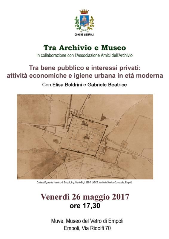 'Tra Archivio e Museo', la terra murata di Empoli e il rapporto tra città e Arno