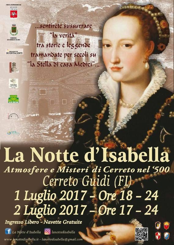 La Notte d'Isabella: atmosfere e misteri di Cerreto nel 5OO