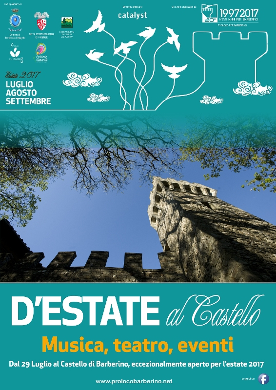 "Sabato al via ""D'Estate al Castello"" a Barberino di Mugello"