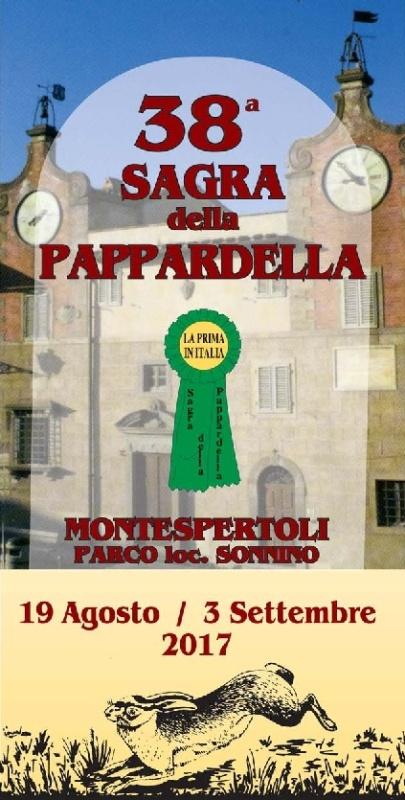 Sagra della Pappardella al Parco Urbano di Montespertoli: siamo giunti alla 38^ edizione