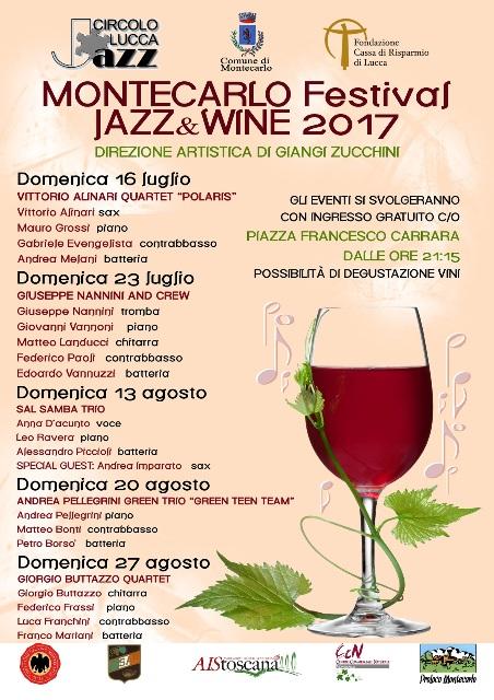 Montecarlo Jazz & Wine 2017