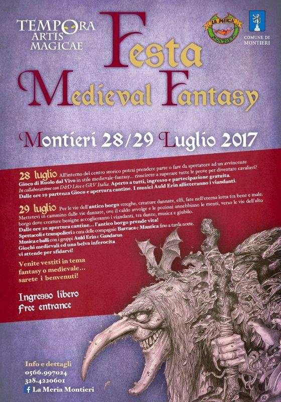 Tempora Artis Magicae: festival medieval fantasy a Montieri