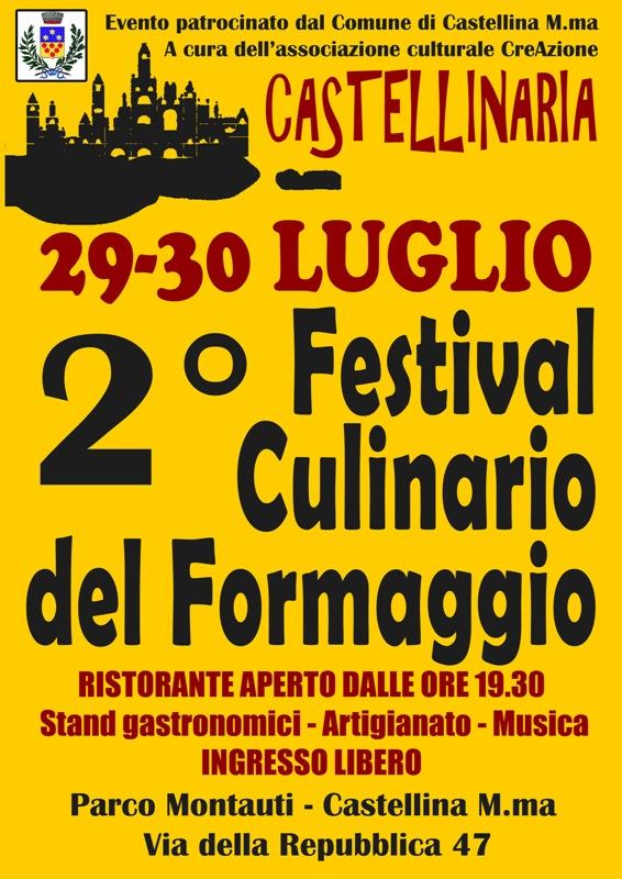 Festival Culinario del Formaggio a Castellina Marittima