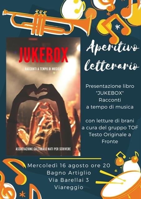 """Aperitivo musicale: una serata dedicata all'antologia del """"Jukebox. Racconti a tempi di musica"""""""