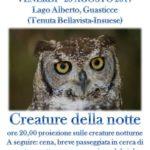 [ Collesalvetti ] Iniziativa notturna al Lago Alberto a Guasticce a cura dell'Associazione Culturale Gaia