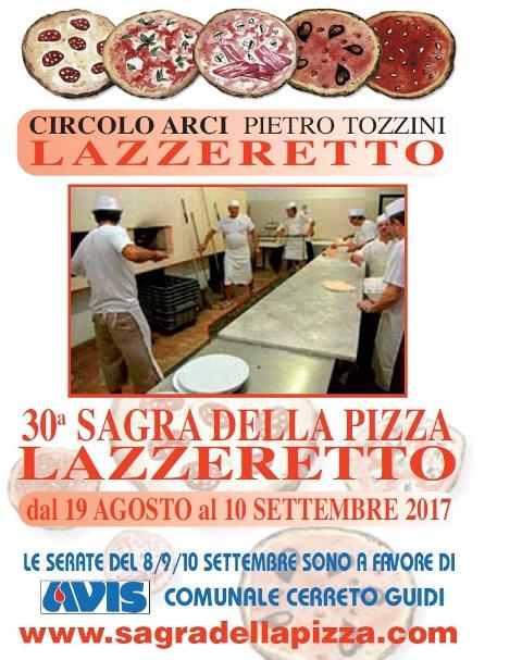 30° Sagra della Pizza a Lazzeretto