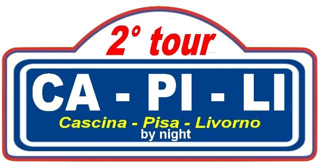 2° Tour Ca Pi Li Cascina Pisa e Livorno. Tour in notturna di auto storiche e sportive