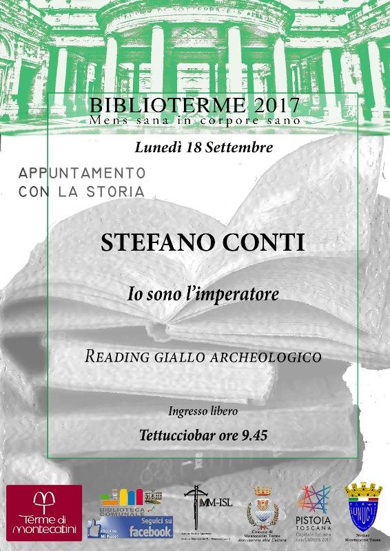 Ecco gli appuntamenti con Biblioterme a Montecatini Terme per il mese di settembre