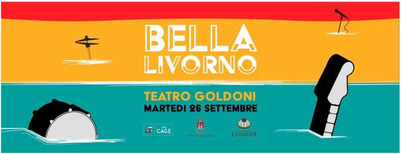 """""""Bella Livorno"""": sul palco del Teatro Goldoni grandi artisti per un concerto di solidarietà dedicato all'emergenza alluvione Livorno"""