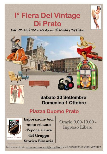 I° Fiera del Vintage di Prato