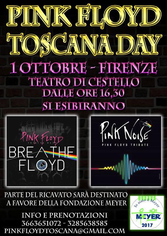 Pink Floyd Toscana Day al Teatro di Cestello: una parte del ricavato in favore della Fondazione Meyer
