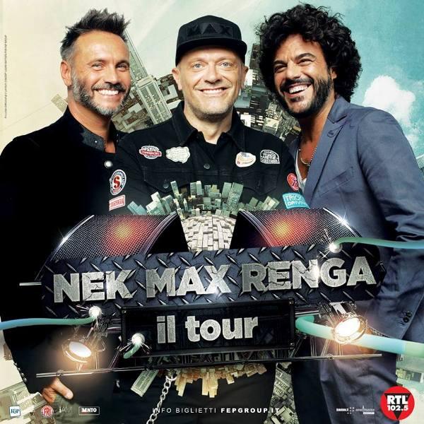 Nek Max Renga Tour: a novembre al Mandela Forum