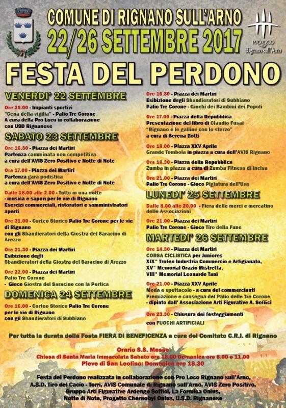 Festa del Perdono a Rignano sull'Arno