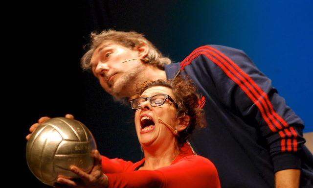 Andrea Zorzi rotagonista de La leggenda del pallavolista volante al Teatro Verdi