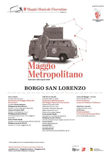 L'Orchestra del Maggio Musicale Fiorentino a Borgo San Lorenzo con quattro eventi