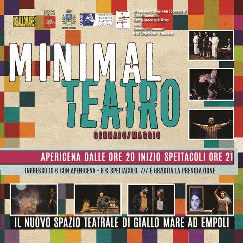 Teatro contemporaneo, laboratori teatrali e progetti speciali nello spazio di via Veronese a Empoli: Minimal Teatro una stagione tutta da scoprire