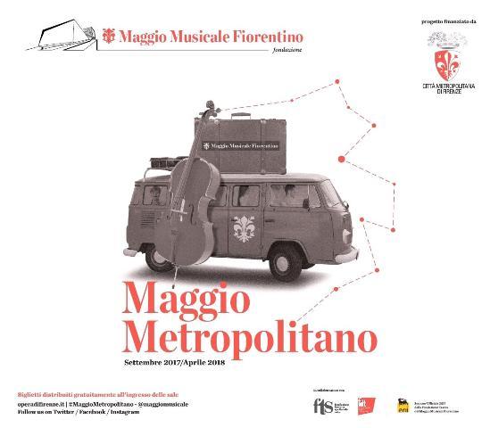 Novembre Maggio Metropolitano con tre concerti con l'Orchestra Musicale del Maggio Fiorentino