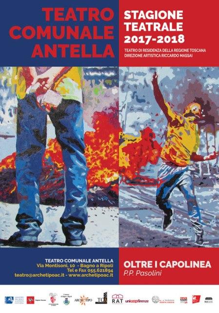 Stagione Teatrale 2017/2018 al Teatro Comunale di Antella