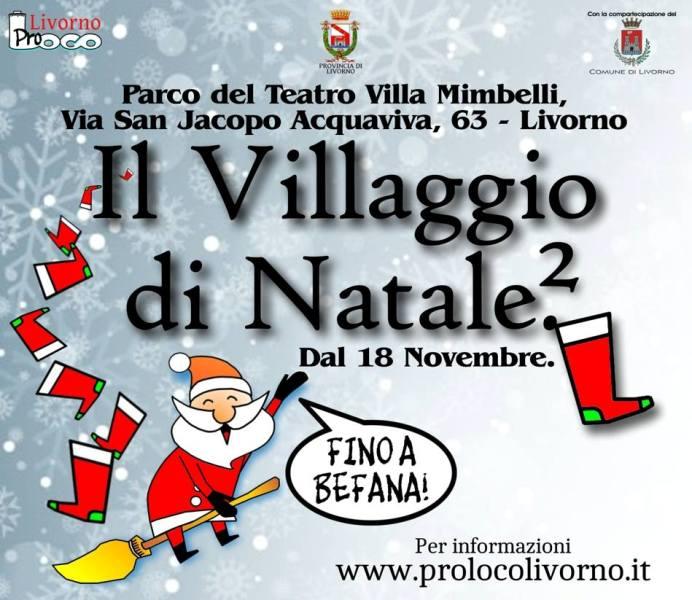Torna il Villaggio di Natale a Livorno