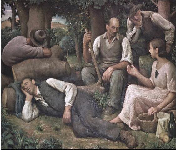 Giulio Marchetti. Sfumature di sentimento in un pittore del '900