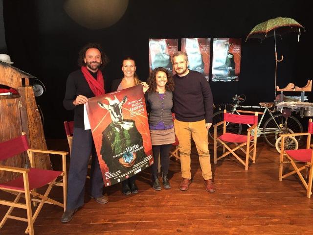 Teatro C'art presenta la stagione 2017/2018. Riconoscere l'arte nell'anarchia. Dedicata all'arte libera in Brasile e nel mondo