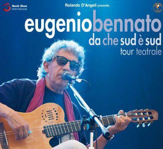 """Eugenio Bennato """"Da che sud è sud"""" al Teatro Puccini"""