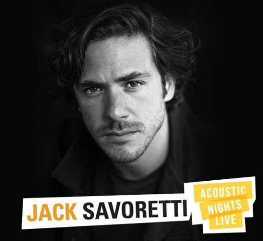 """Jack Savoretti, il cantante italo-americano, torna con l'""""Acoustic Nights Live"""" al Teatro Verdi"""