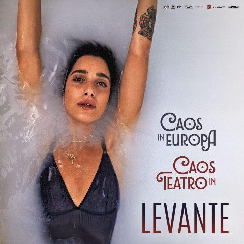 """Levante: """"Caos in teatro tour 2018"""" al Teatro Verdi"""