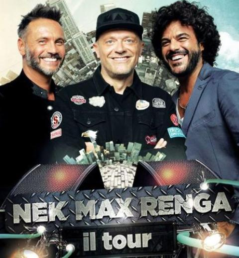 Nek, Max, Renga tre grandi artisti della musica italiana insieme per uno straordinario progetto Live al Mandela