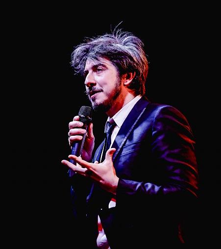 """Paolo Ruffini porta in scena """"Io? Doppio!"""" alla Citta del Teatro di Cascina"""