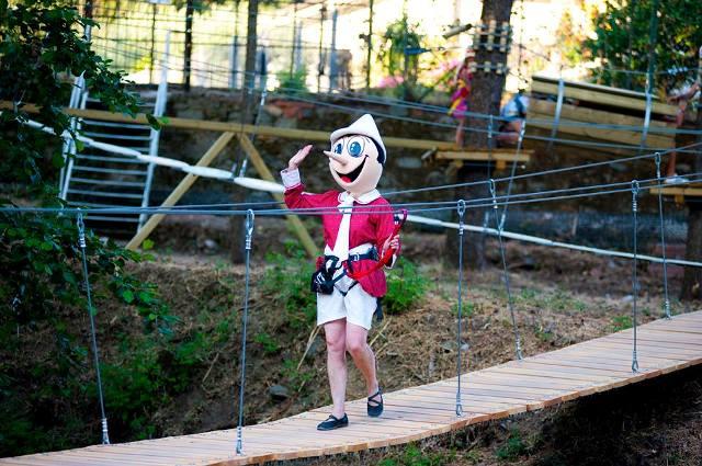 Dicembre è un mese magico e il Parco di Pinocchio si veste a festa con tante iniziative per i bambini