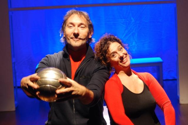 La Leggenda del pallavolista volante con Andrea Zorzi e Beatrice Visibelli al Teatro del Popolo