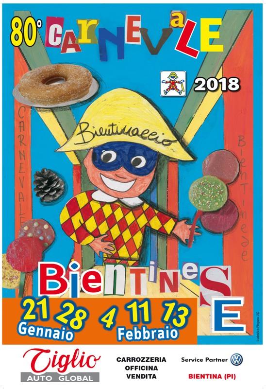 80^ edizione del Carnevale Bientinese