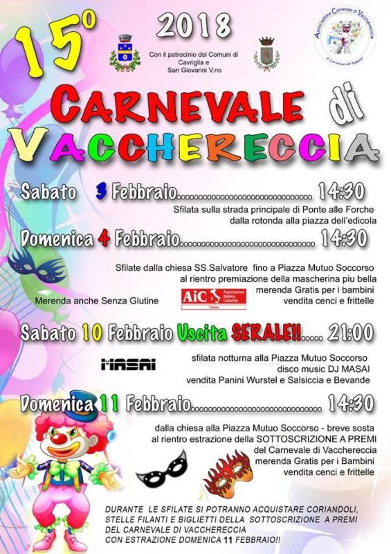 Carnevale di Vacchereccia. Il carnevale dei Ragazzi di Cavriglia
