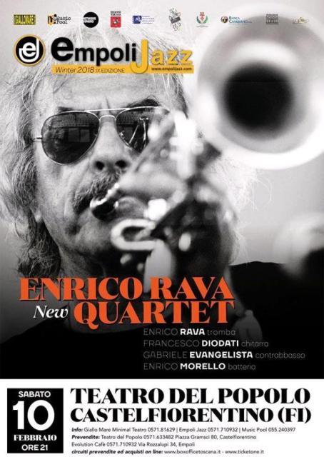 Empoli JAZZ Winter 2018 IX Edizione Enrico Rava New Quartet al Teatro del Popolo