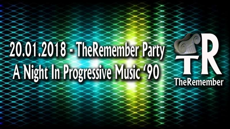 The Remember Party: a night in progressive music '90 al Namaste Beer Point di Firenze