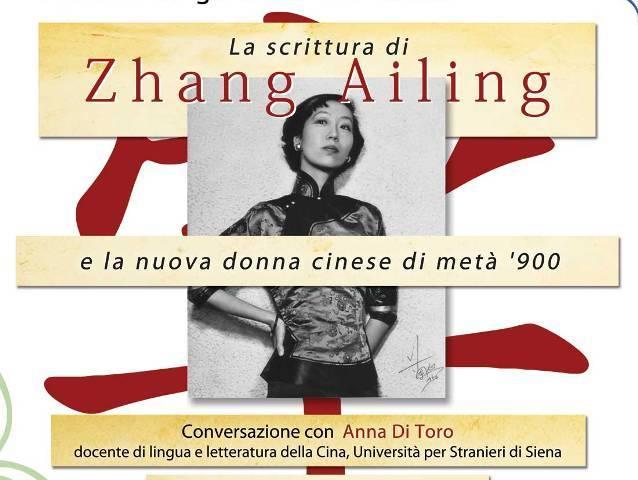 La scrittura di Zhang Ailing e la nuova donna cinese di metà Novecento con Anna del Toro al Cenacolo degli Agostiniani