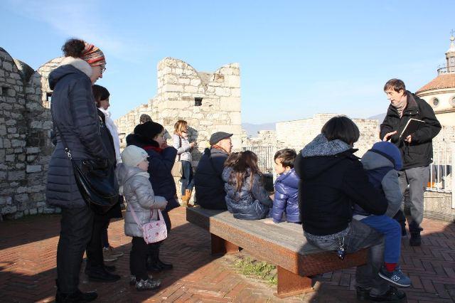 Cassero e Castello dell'Imperatore al centro di una visita guidata alla scoperta della Prato medievale