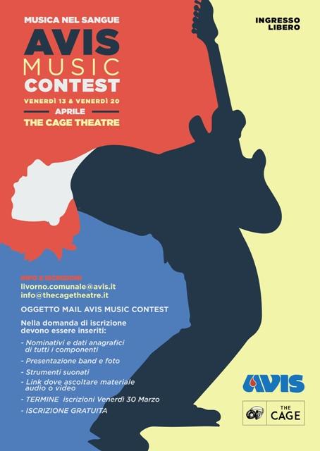 """Musica e solidarietà per la 1° edizione dell'""""Avis Music Contest"""", a cura di Avis aperto ai giovani talenti del territorio"""