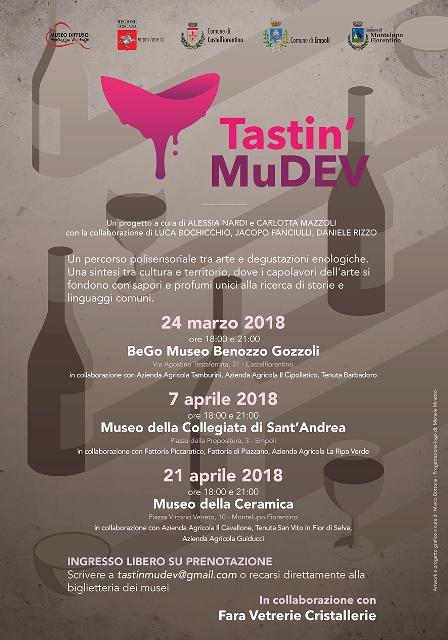 Tastin' MuDEV, un percorso polisensoriale tra arte e degustazioni enologiche