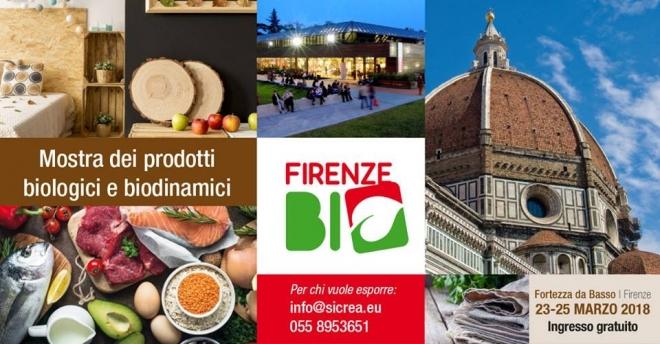 La Toscana punta sul BIO, a Firenze la mostra mercato dei prodotti biologici e biodinamici