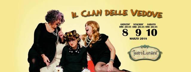 Il clan delle vedove al Teatro Lumière, una commedia quasi tutta al femminile