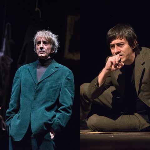 Delitto/Castigo: Sergio Rubini e Luigi Lo Cascio al Teatro della Pergola