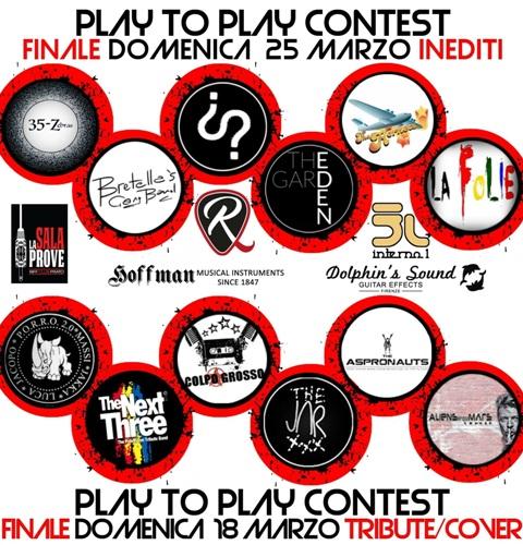Ultimi due appuntamenti con Play to Play contest al Riff Club