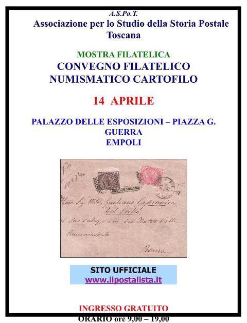 Convegno Filatelico Numismatico Cartofilo al Palazzo delle Esposizioni