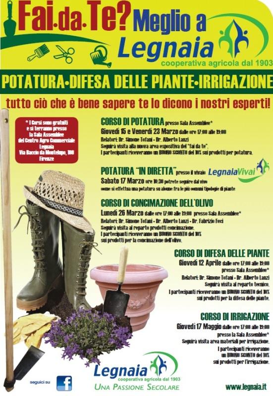corsi di giardinaggio gratuiti