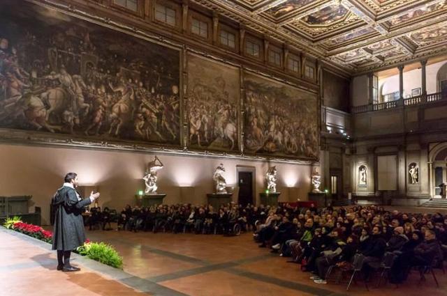 Giorgio Vasari racconta: il salone dei Cinquecento sotto una nuova luce
